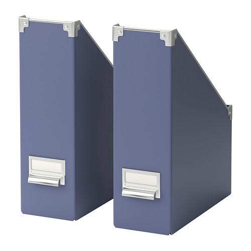 Ikea archivador azul