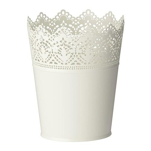 Ikea jarron blanco