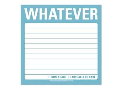 notas whatever
