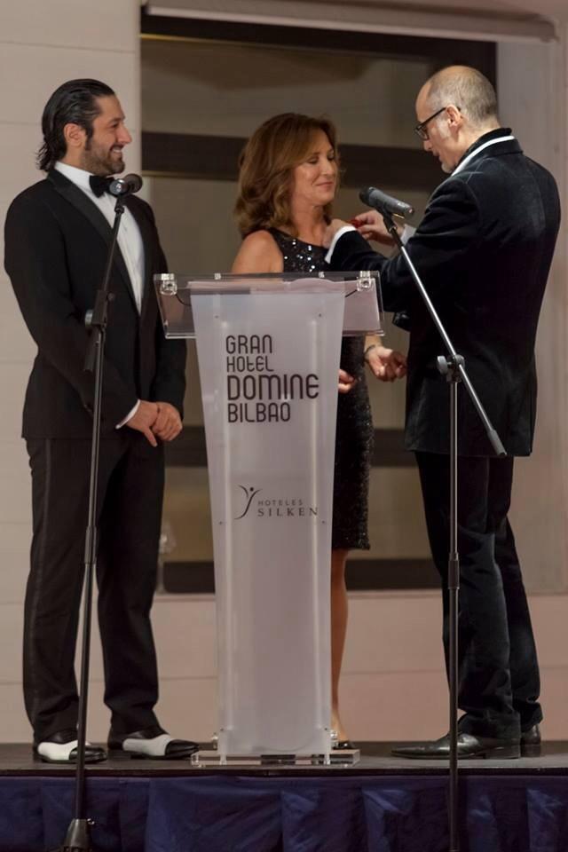 Nombramiento de Patricia Gaztañaga como madrina del proyecto