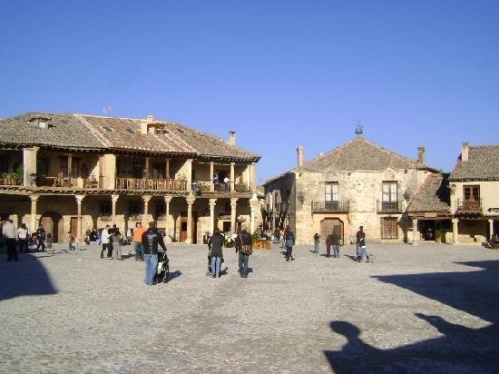 Plaza mayor de Pedraza