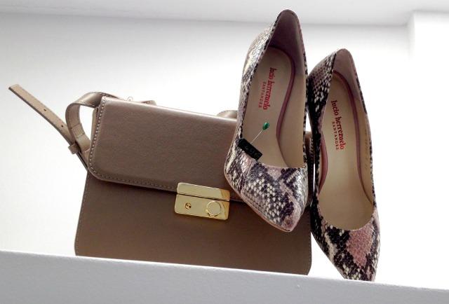 BH - Zapatos pitón rosa