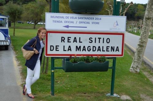 palacio de la magdalena santander look marinero