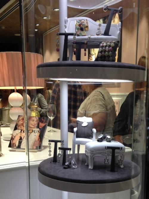 Inauguración tienda TOUS Bilbao joyería collar pendiente pulsera blog blogger
