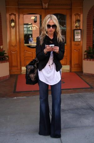 Rachel Zoe leaving a medical building in Los Angeles