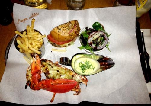 London restaurant burger and lobster restaurante londres hamburguesas y langosta