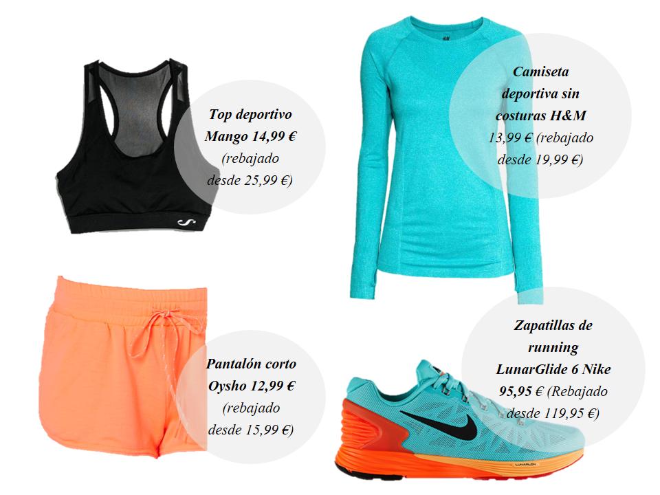 Look Running deporte sport zapatillas New Balance Camiseta Roxy Nike Adidas Colores Acidos Shorts