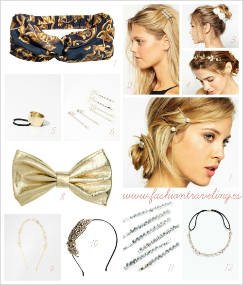 accesorios para el pelo diademas horquillas gomas cintas pelo corto