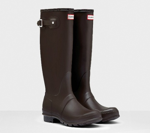 Hunter boots botas verdes marrones