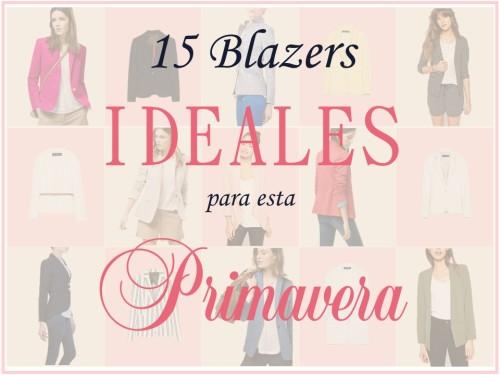 Blazers Para Primavera 1